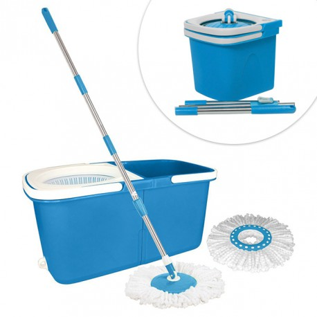Split-Mop-Scrubbing-Center