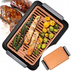 SMOKELESS GRILL - RAUCHFREI COPPER GRILL