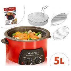 CHEF'O'MATIC 5 L 12 IN 1 MULTIFUNKTIONSKOCHER